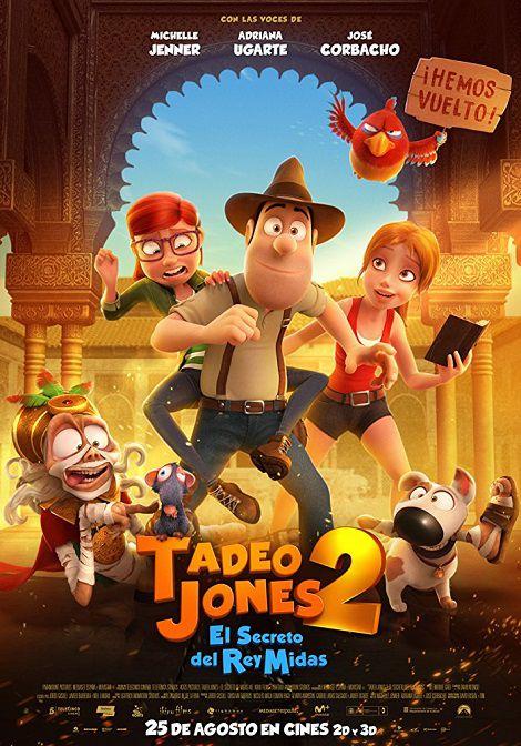 دانلود انیمیشن Tad Jones 2: The Hero Returns 2017 دوبله فارسی