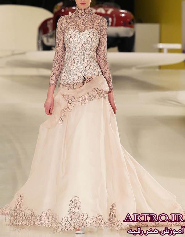 مدل لباس عروس اروپایی 2018
