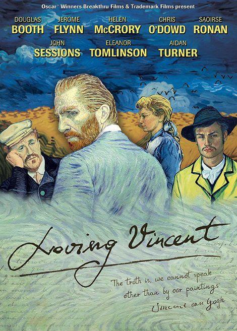 دانلود انیمیشن وینسنت دوست داشتنی Loving Vincent 2017 دوبله فارسی