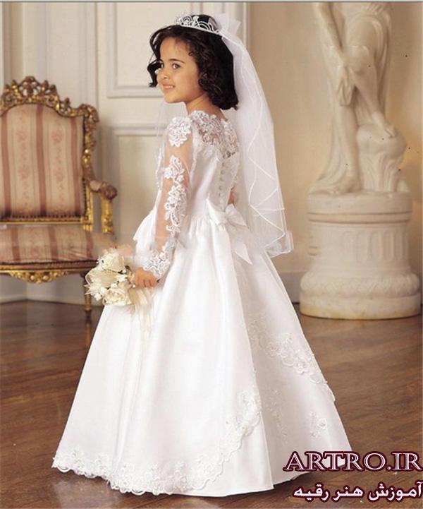 عکس لباس عروس دختربچه