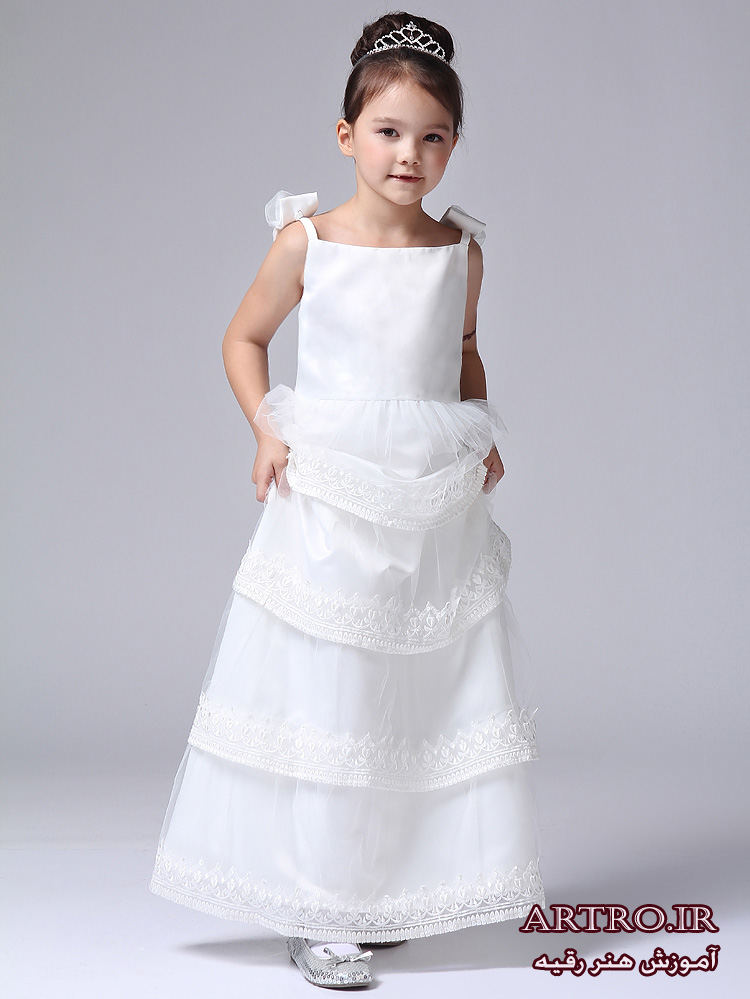 مدل لباس عروس دختربچه ها,