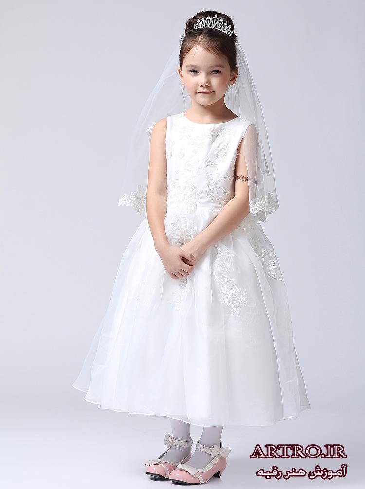 لباس عروس دختربچه جدید,