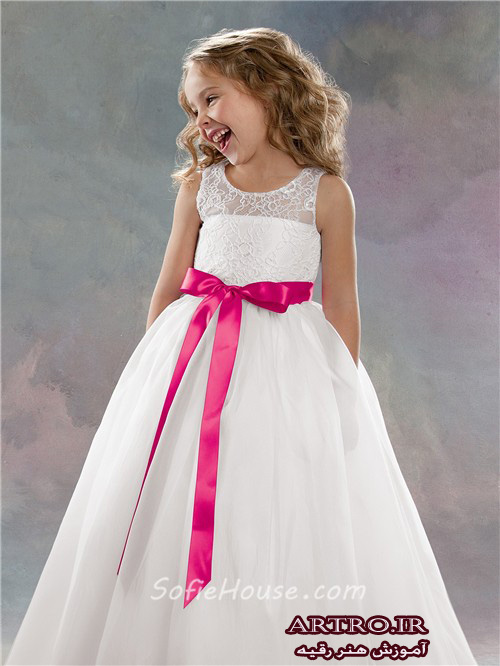 لباس عروس دختربچها,