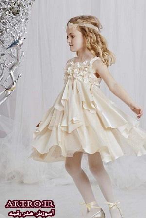 لباس عروس دختربچه,لباس عروس دختربچه ها,