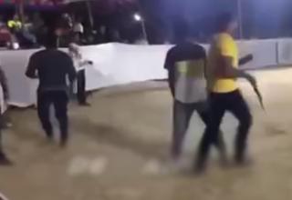 لحظه مرگ یک ورزشکار مقابل دوربین +فیلم