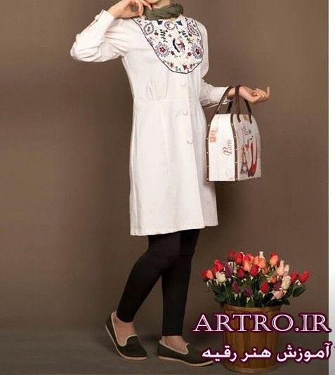 مدل مانتو جدید دخترانه ایرانی،