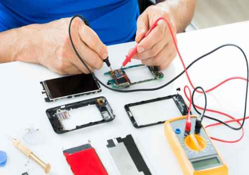 نمونه سوالات تعمیر تلفن همراه