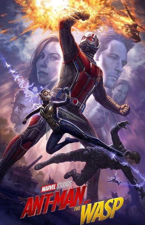 دانلود فیلم مرد مورچه ای و زنبورک Ant-Man and the Wasp 2018