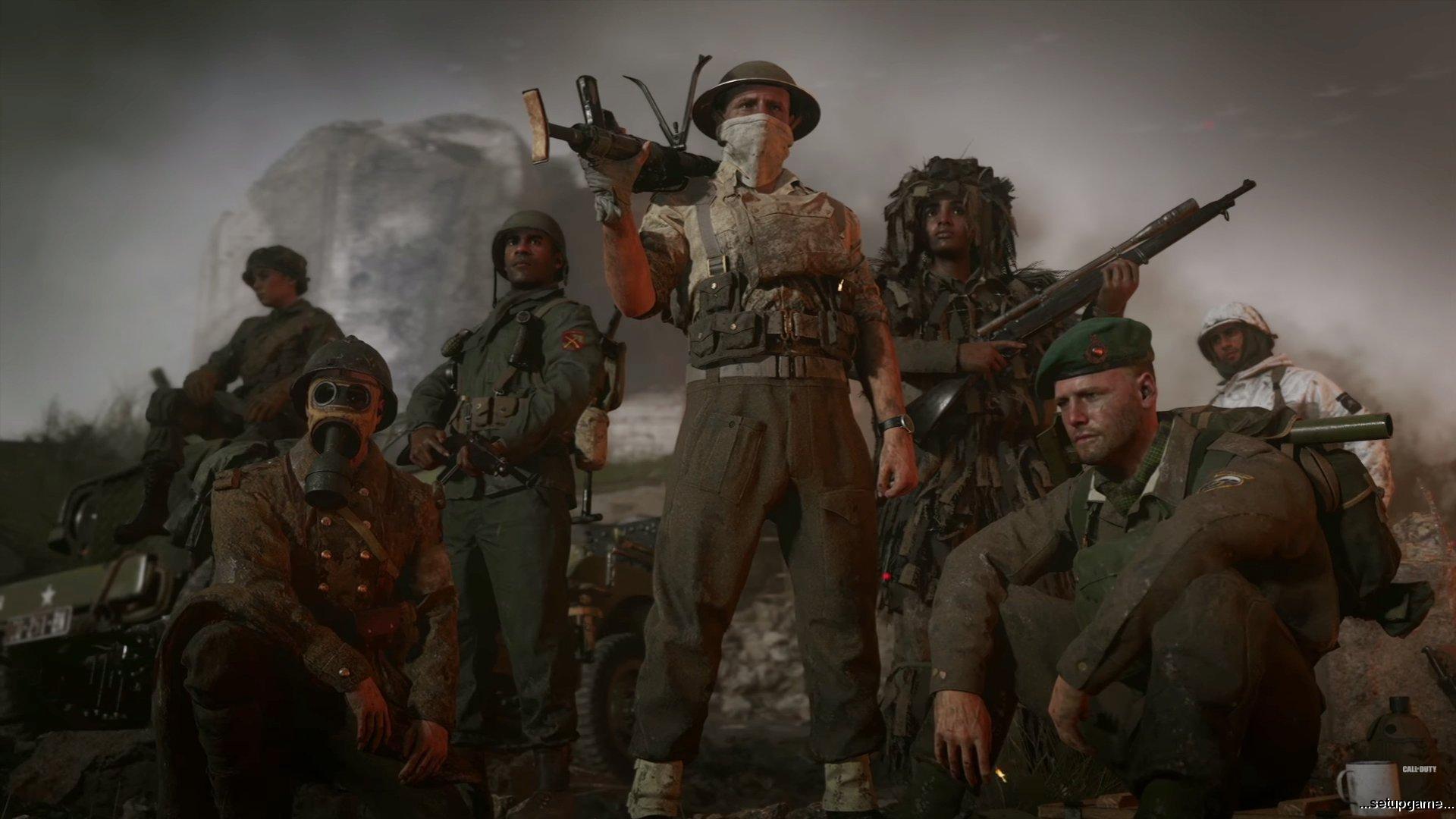 اولین بستهالحاقی بازی Call of Duty: WWII هماکنون در دسترس است