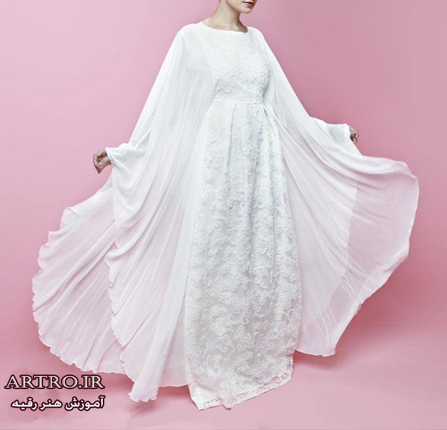 مدل لباس مجلسی عبایی 2018