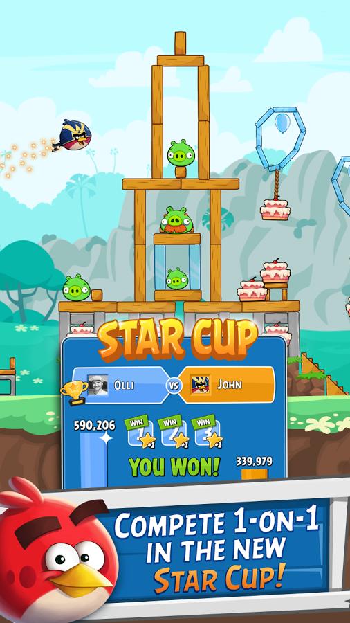 دانلود بازی پرندگان خشمگین دوستان Angry Birds Friends
