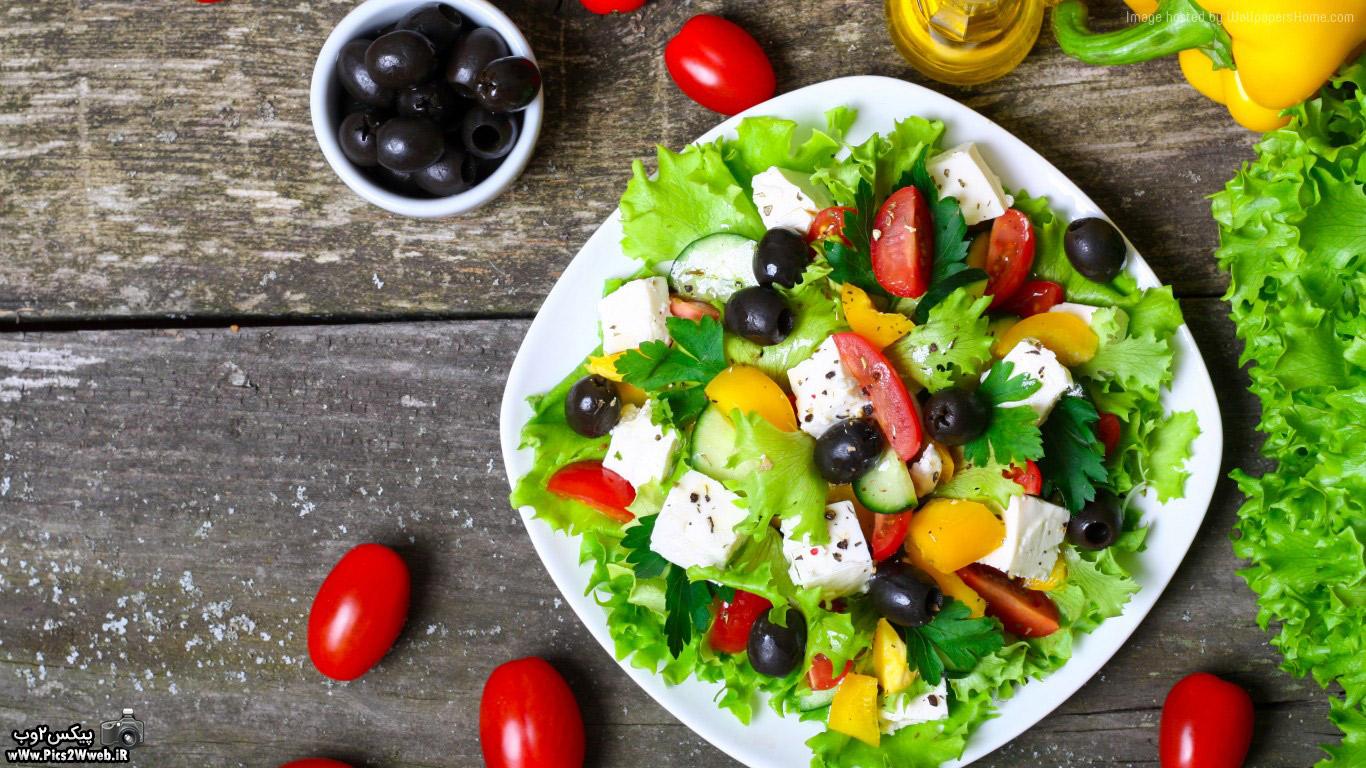 عکس سبزیجات
