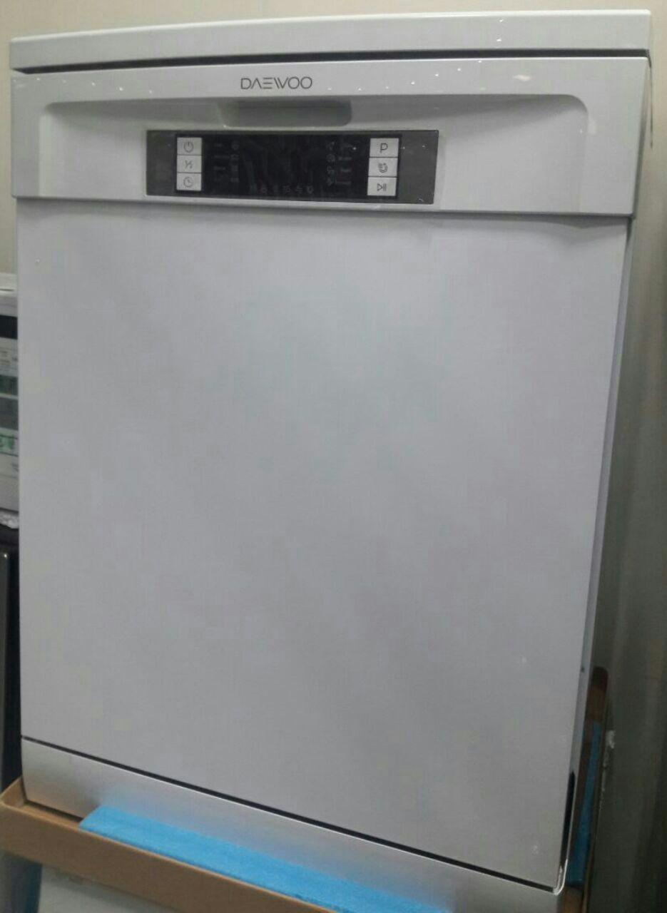ماشین ظرفشویی دوو daewoo مدل 1411 سفید 14 نفره