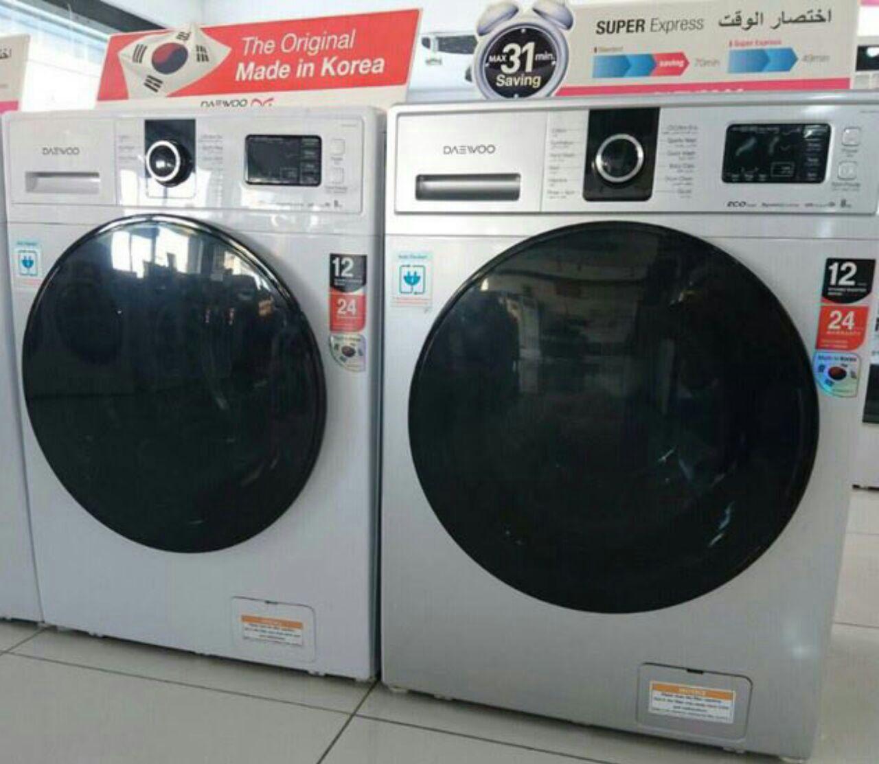 ماشین لباسشویی دوو daewoo مدل 1442 ساخت کره