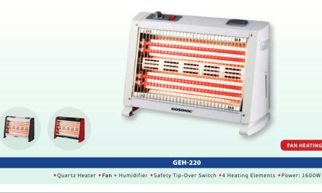 بخاری برقی فن هیتر گوسونیک gosonic مدل geh220