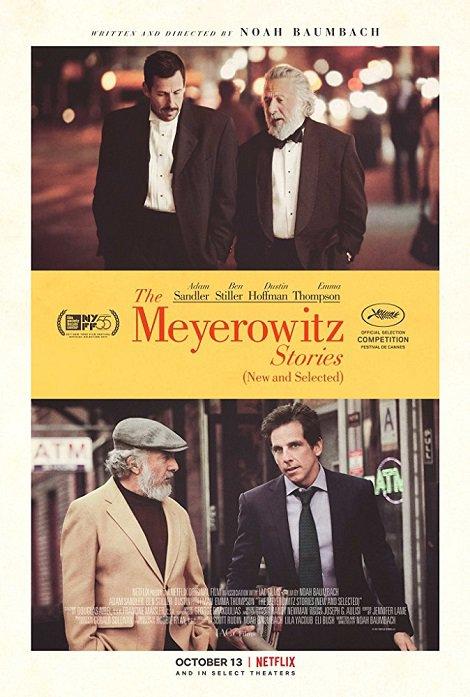 دانلود فیلم داستانهای مایروویتز The Meyerowitz Stories 2017