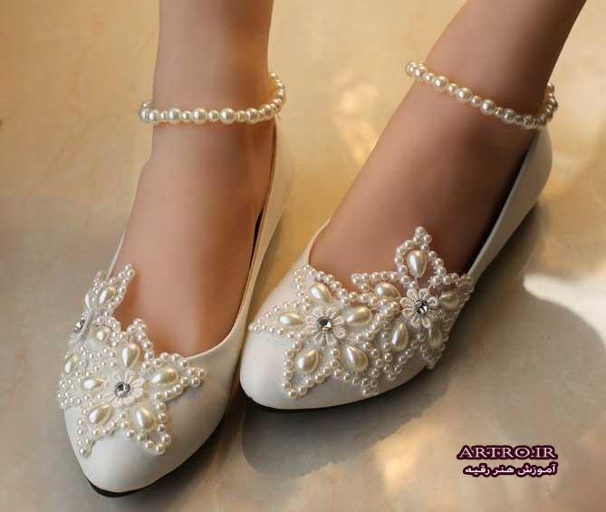 مدل کفش عروس جدید,
