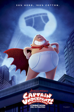 دانلود انیمیشن Captain Underpants: The First Epic Movie 2017