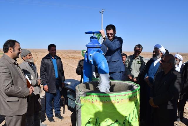 بهره برداری از چند پروژه عمراني در شهرستان زیرکوه در پنجمین روز از دهه فجر