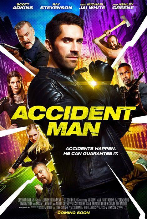 دانلود فیلم مرد حادثه Accident Man 2018