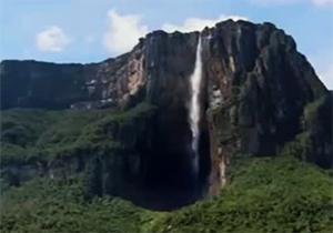 با عظیم ترین آبشار جهان آشنا شوید/ آبشاری 20 برابر بلندتر از نیاگارا + فیلم