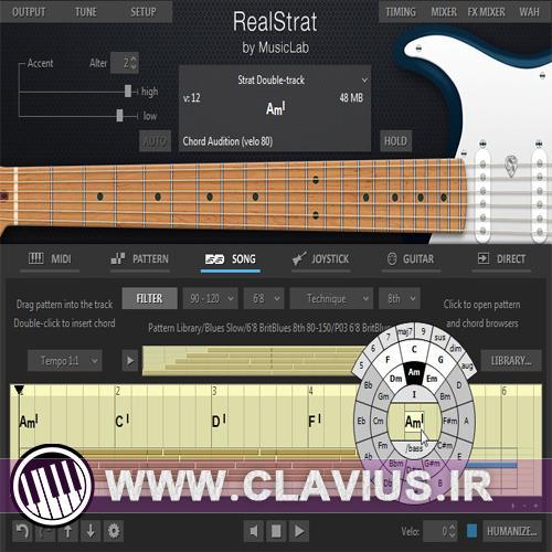 دانلود رایگان وی اس تی MusicLab RealStrat v4.0.0.7250