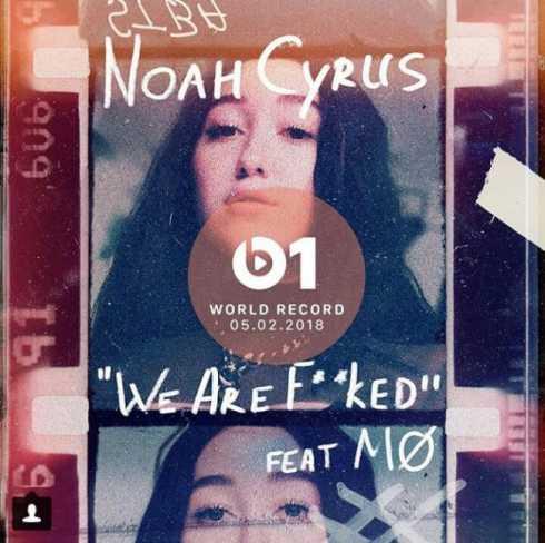 متن آهنگ We Are از Noah Cyrus به همراه MO