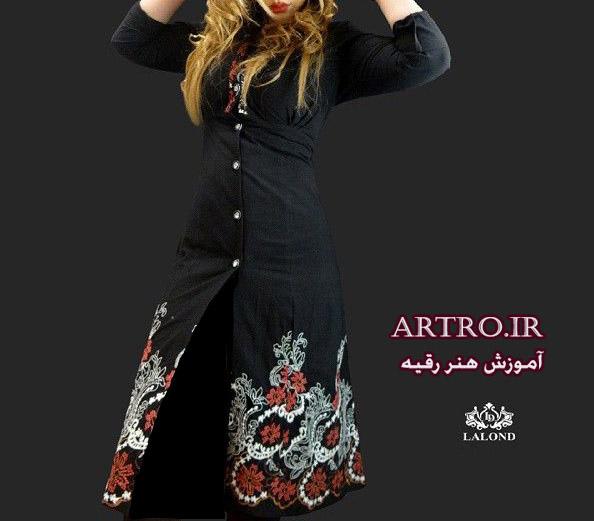 مدل مانتوی اسپرت دخترانه 97