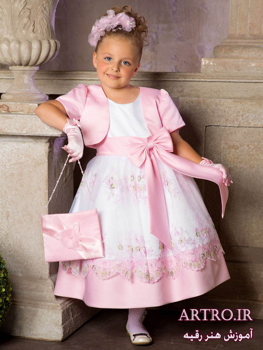 مدل لباس مجلسی دختربچه ها,