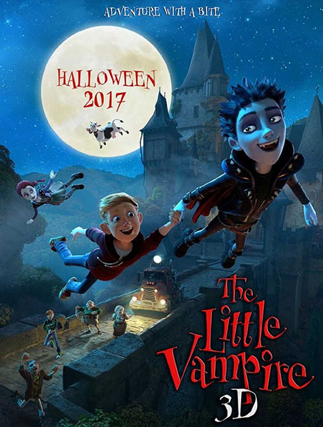 دانلود انیمیشن خون آشام کوچک The Little Vampire 2017 دوبله فارسی