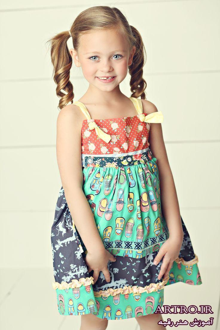مدل لباس بهاری دختربچه ها