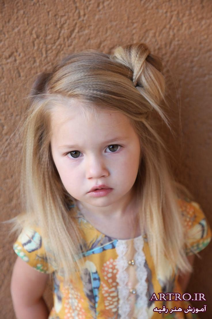 آموزش بستن مو دخترانه