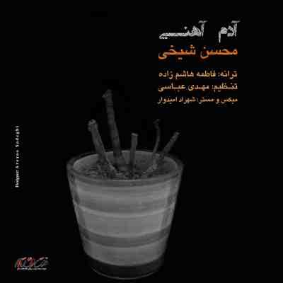 متن آهنگ آدم آهنی از محسن شیخی