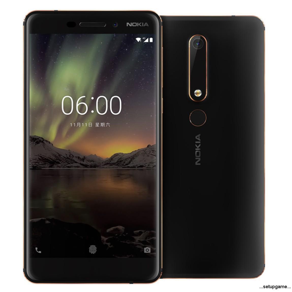 مدل 2018 نوکیا 6 با نام Nokia 6.1 شناخته میشود