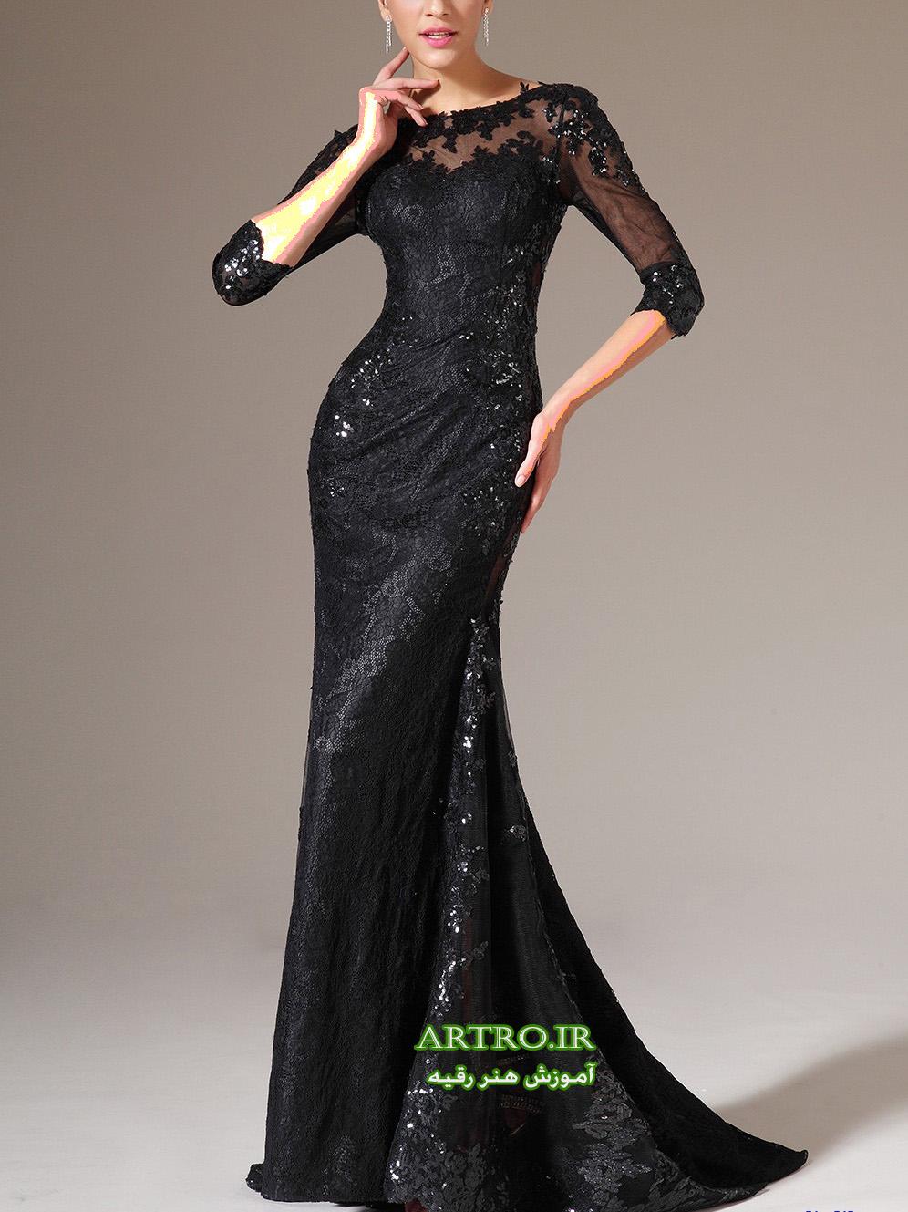 مدل لباس مجلسی بلند دخترانه,