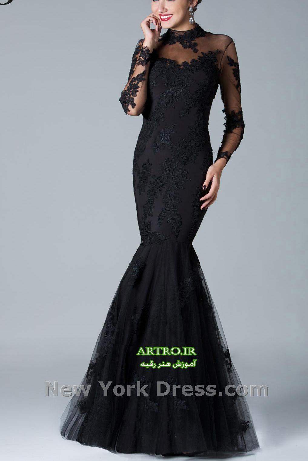 مدل های لباس مجلسی بلند دخترانه,