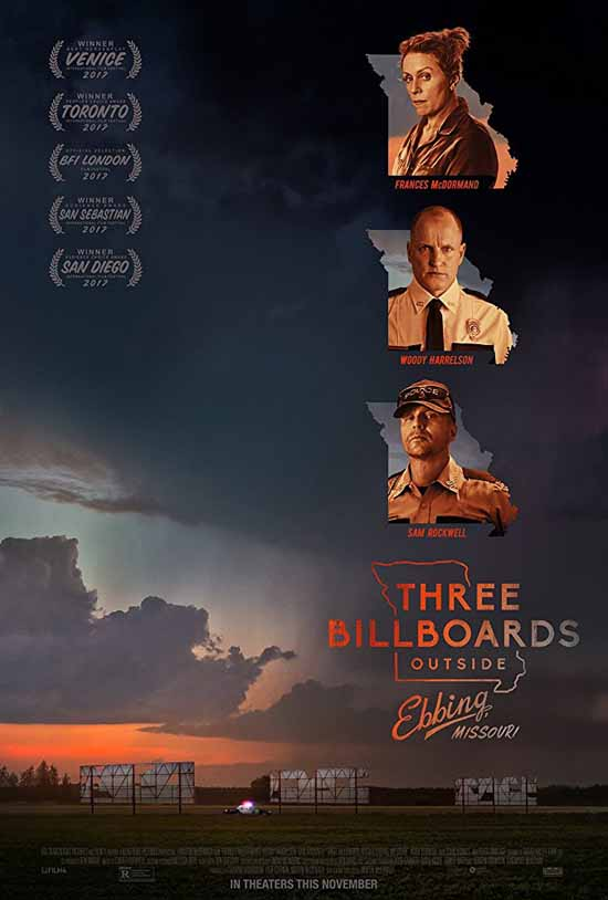 دانلود فیلم Three Billboards Outside Ebbing, Missouri 2017