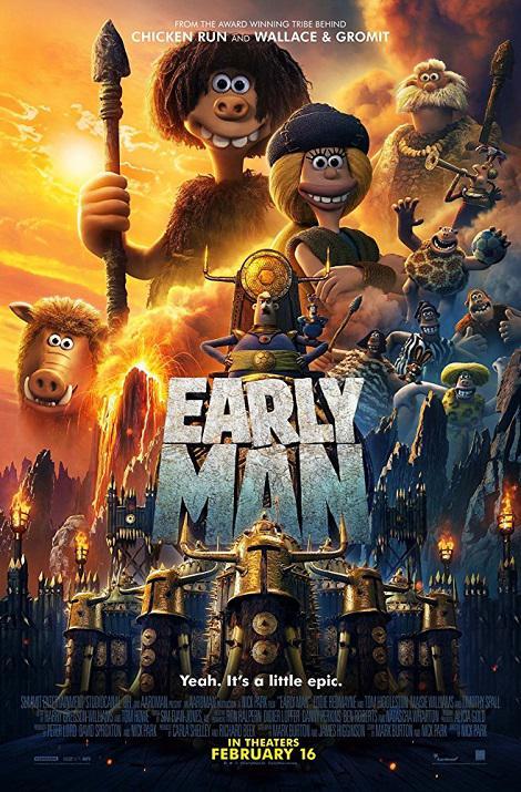 دانلود انیمیشن انسان نخستین Early Man 2018