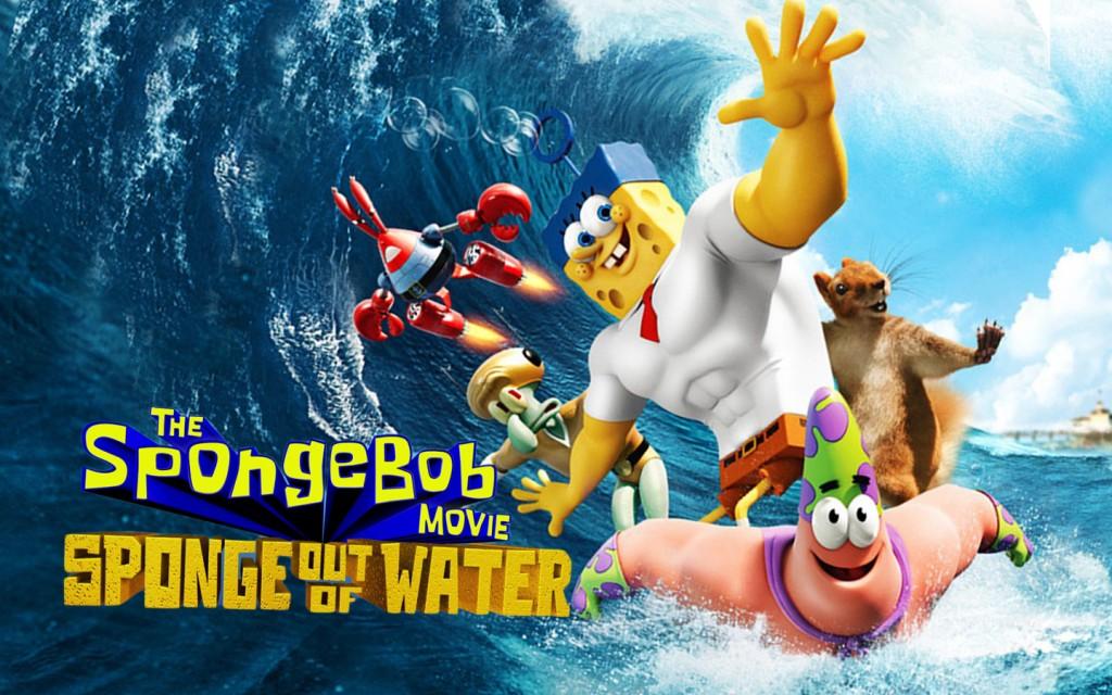 انیمیشن باب اسفنجی: اسفنج بیرون از آب