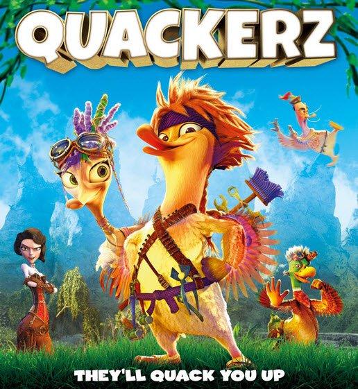 انیمیشن نبرد اردکها Quackerz