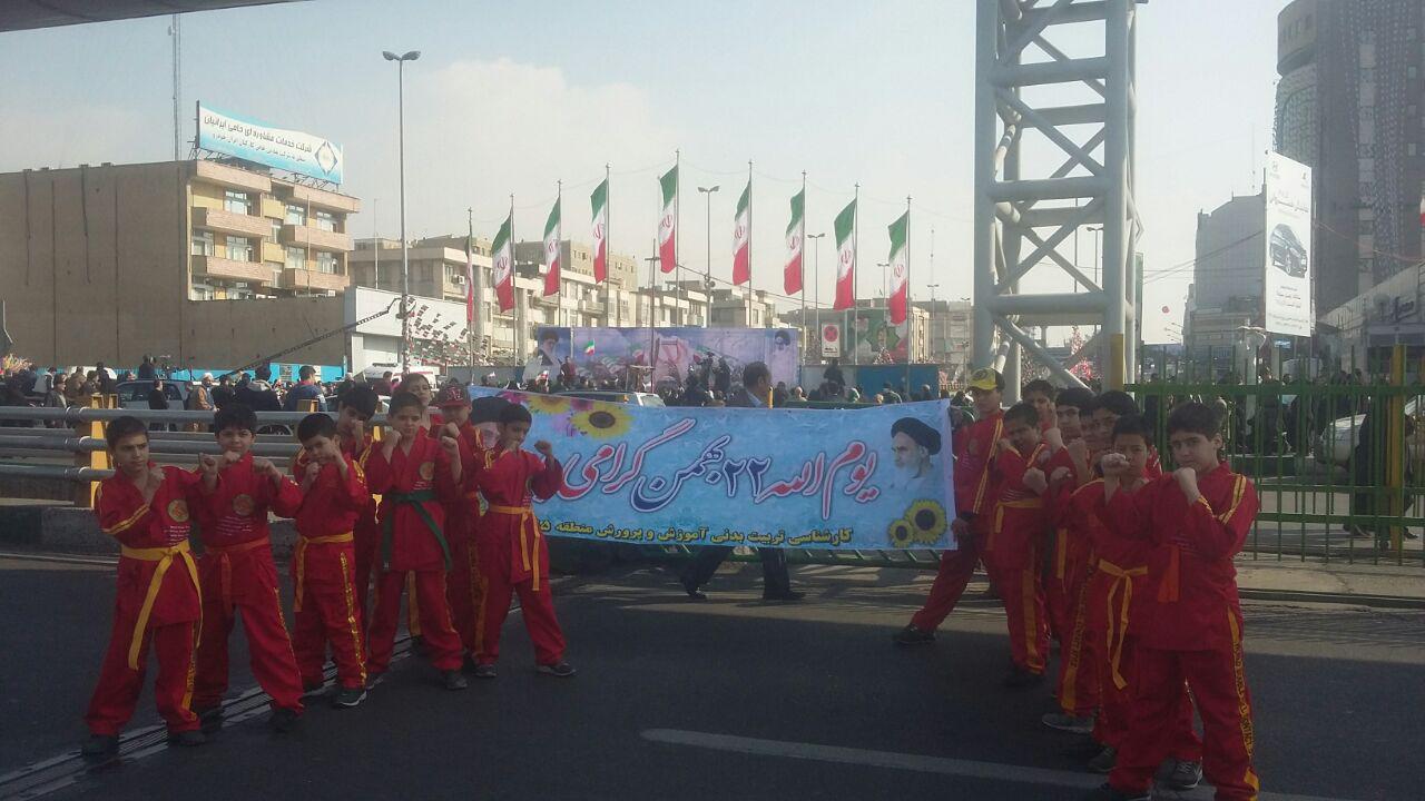 منتخبین نوجوان استان تهران دابل فول کنتاکت