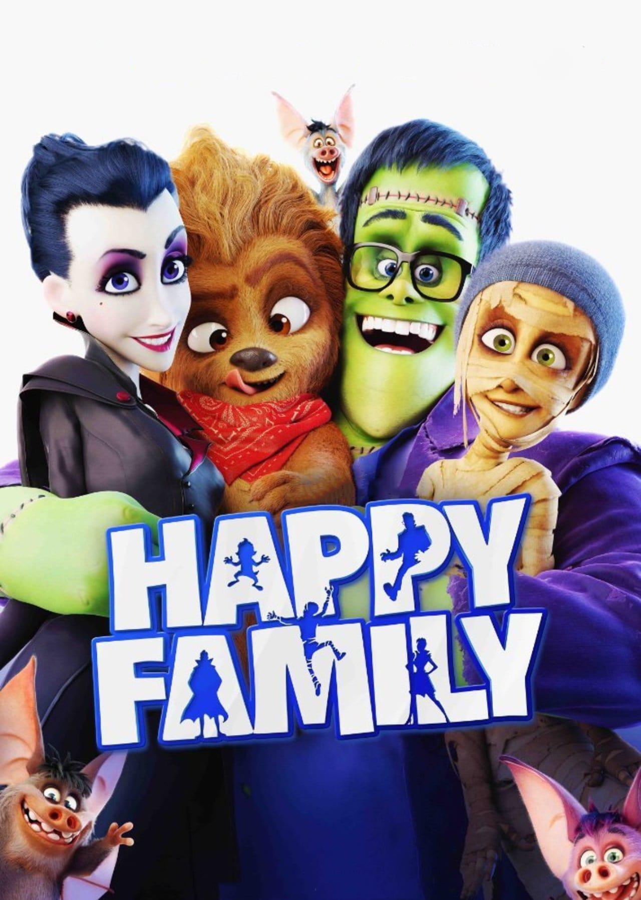 دانلود انیمیشن Monster Family 2017
