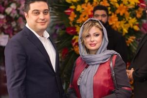 نیوشا ضیغمی و خواهر روشا ضیغمی در افتتاحیه گالری همسرش! عکس