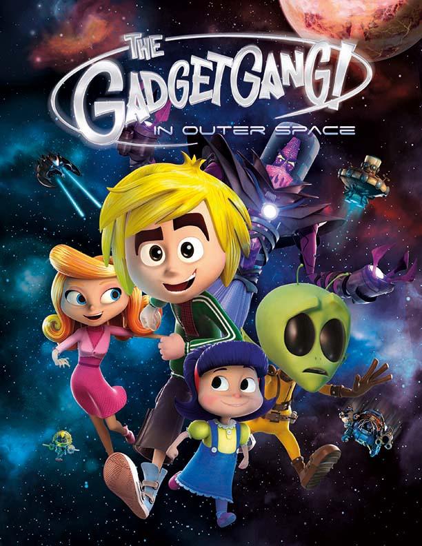 انیمیشن گجتها در فضا 2017 GadgetGang in Outer Space