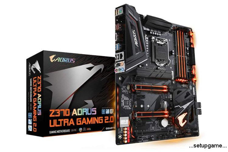 مادربرد Aorus Z370 Ultra Gaming گیگابایت معرفی شد