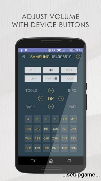 دانلود TV Remote for Samsung 7.8.0 build 4310 – ریموت کنترل سامسونگ