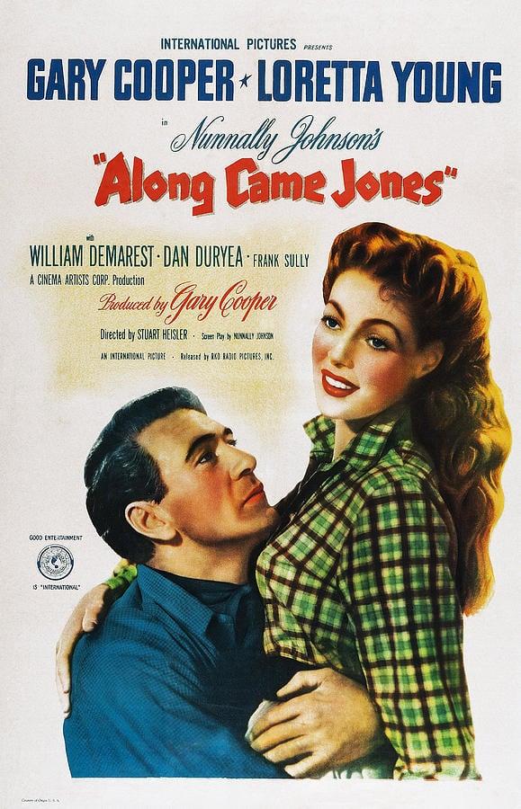 دانلود فیلم Along Came Jones 1945