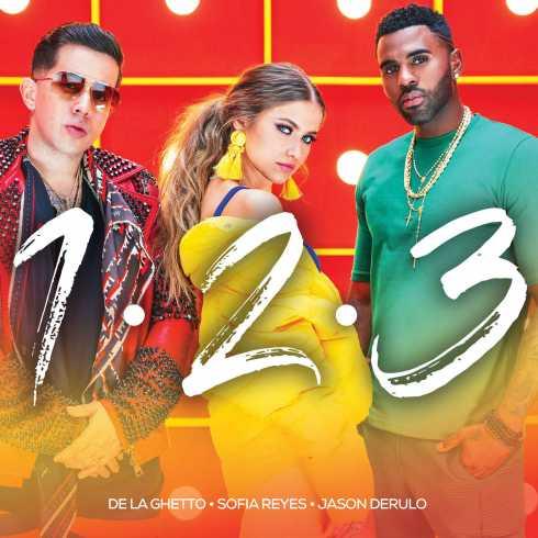 متن آهنگ One Two Three از Sofia Reyes با همراهی Jason Derulo و De La Ghetto