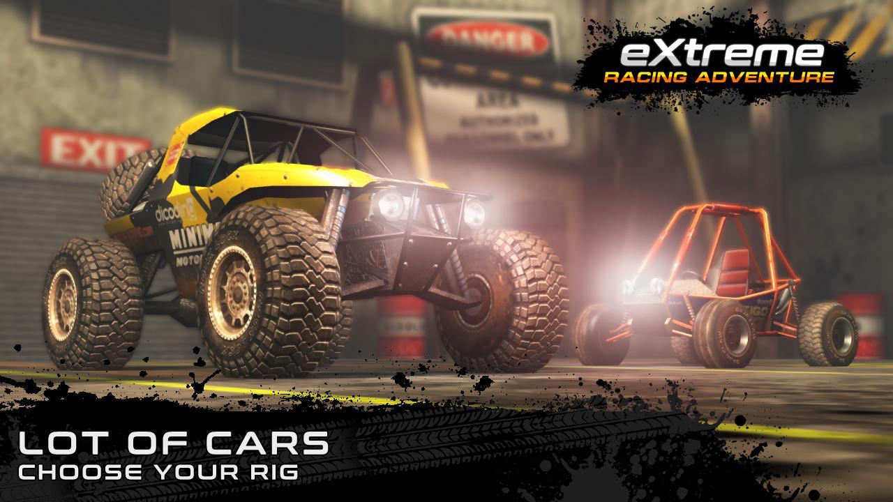 دانلود Extreme Racing Adventure 1.3.4 - بازی مسابقه افراطی ماجراجویی برای اندروید و آی او اس + مود