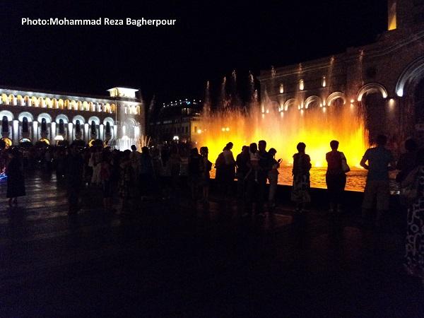 میدان جمهوری(هراپاراک، هراپاراگ) ارمنستان...